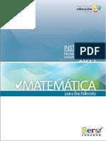SER Matematica Bachillerato
