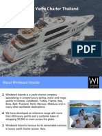 Luxury Yacht Charter Thailand