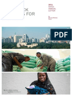 2014 Bill and Melinda Gates  Foundation Report on Global Poverty