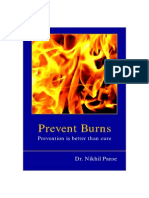 Prevent Burns -Prevention is better than cure.