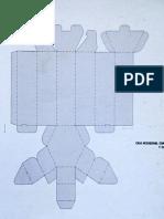 Desarrollo Caja Hexagonal