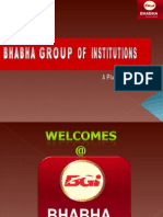Bhabha Group Placement