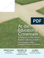 At the Educational Crossroads