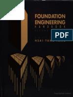 Foundation Engineering Handbook, H.Y. Fang