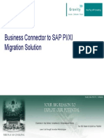 Business Connector to SAP PI_XI
