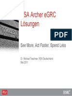 Rsa Archer Egrc~1 Training certification