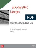 Rsa Archer Egrc~1 Training certification