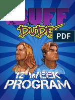 Buff Dudes 12 Week Workout Program