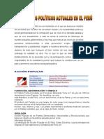 Partidos Politicos Del Peru Actualidad