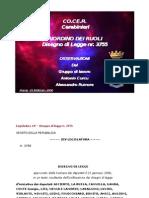 1 Riordino-Relazione Sul Testo Approvato Alla Camera