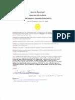 Special Assumpsit, Open Society Institute (ARDO)