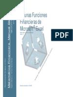 Funciones Financieras Excel