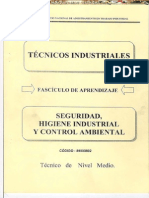 Manual Seguridad Higiene Industrial Control Ambiental