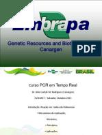 Curso PCR tempo real e aplicaçoes XVIII MET Out 2013