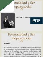 Personalidad y Ser Biopsicosocial