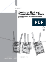 Countering Illicit and Unregulated Money Flows