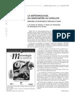 La météorologie, Du baromètre au satellite - Mesurer l'atmosphère et prévoir le tempsmeteo_2000_31_72