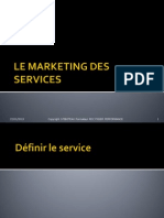 Le Marketing Des Services