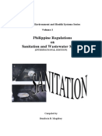 Philippine Regulations on Sanitation and Wastewater Systems