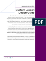 Luxeon Characteristics