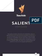 Salient User Guide