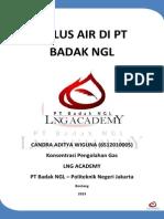 Siklus Air di PT Badak NGL