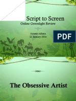 Script to Screen OGR
