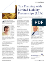 06 07 Tax Planning With Limited Liability Par