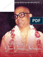 Gour Govinda Swami - Who Was He ?