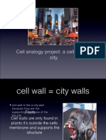 the cell is like a city