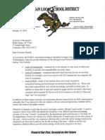 Morgan Schools Letter