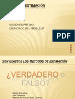 7 ERROR DE ESTIMACIÓN