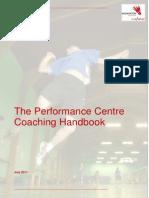 Performance Centre Coaching Handbook - July 2011