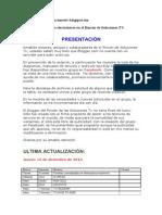 Todos los Diagramas electrónicos en el Rincón de Soluciones TV..doc