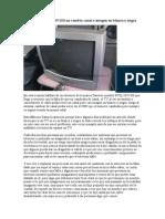 TV Daewoo DTQ-20V1SS no cambia canal e imagen en blanco y negro.doc