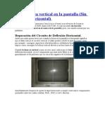 TV con linea vertical en la pantalla - Premier modelo CTV-1828SR chasis CD3728N.doc