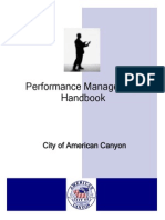 Employee Performance Mgmt Handbook (American Canyon)
