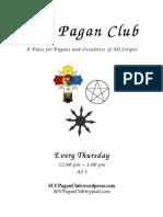 SCC Pagan Club Flyer