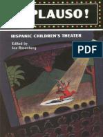 Aplauso! Hispanic Children's Theater edited by Joe Rosenberg