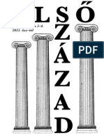 Első Század Online XII. évfolyam 3–4. (összevont) szám (2013. ősz–tél)