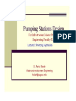 Pumping Stations Design Lecture 3
