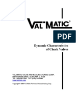Dynamic Char Act Check Valves