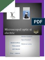 Microscopul optic si electronic