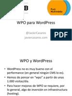 WordPress WPO
