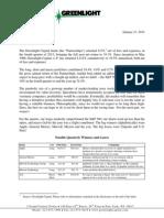 Greenlight Capital Q4 2013 Letter