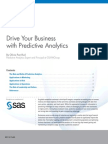Drive Your Business With Predictive Analytics