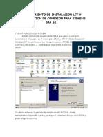 Procedimiento de Instalacion Lct y Configuracion de Conexion Para Siemens Sra Sx