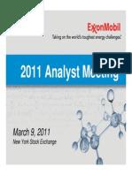 2011 Analyst Meeting