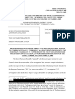 HP Motion to Compel EC Docs (Redacted)
