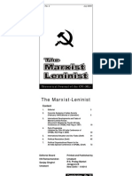 The Marxist - Leninist - July 2009 - Theoretical Journal